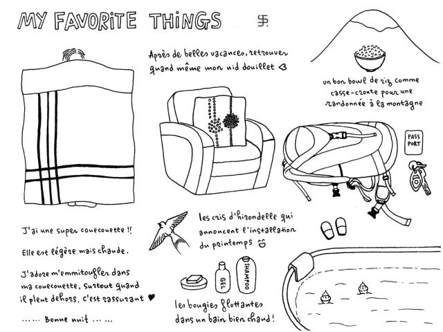 My favorite things - II