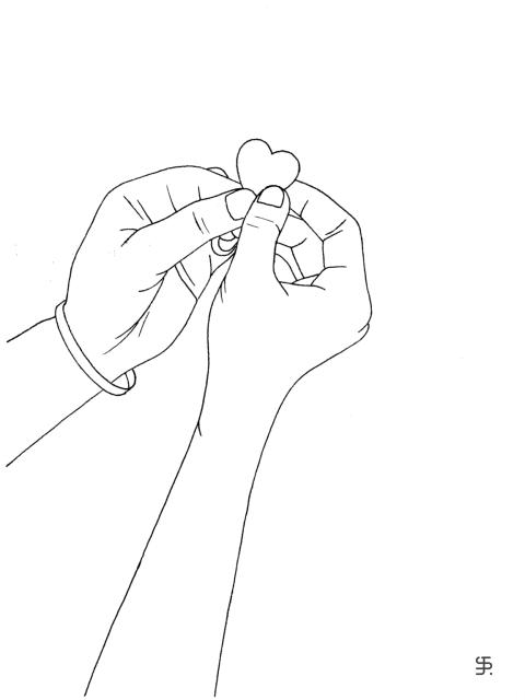 Herz in den Händen